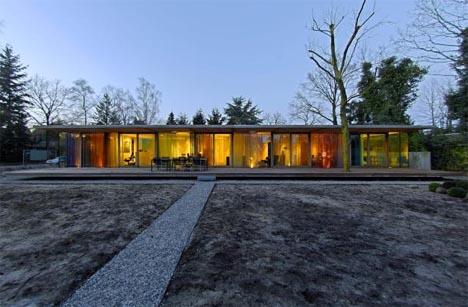 Les maisons plain pied maison simple maison modernemaison moderne - La villa berkel par paul de ruiter ...
