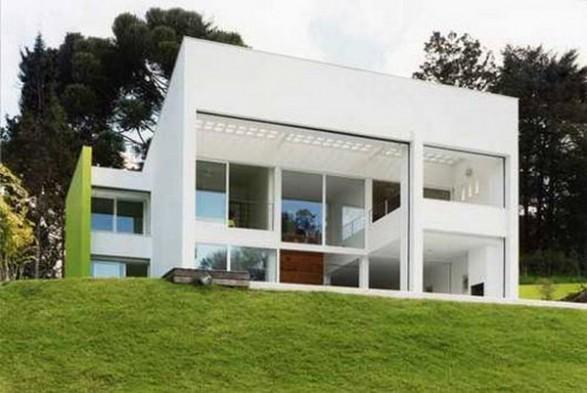 Cuisine Blanche Four Blanc : La maison cube, une maison moderne assez originale, maison cubique