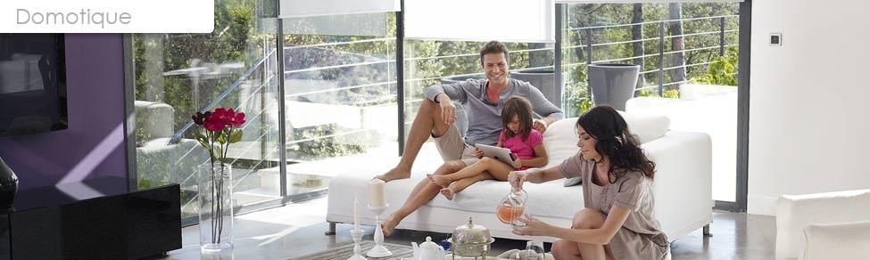 maison interactive maison intelligente maison domotis emaison moderne. Black Bedroom Furniture Sets. Home Design Ideas