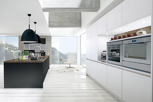 alva noire blanche maison modernemaison moderne. Black Bedroom Furniture Sets. Home Design Ideas