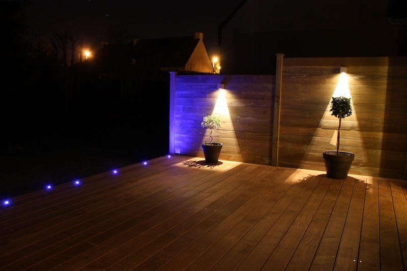 Nice lumiere exterieur pour terrasse 12 finest charmant for Eclairage terrasse led