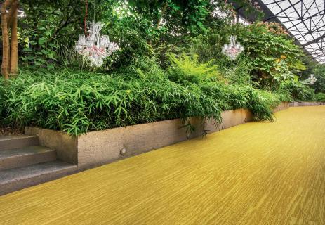 Les sols prennent de la couleur avec la moquettemaison moderne for Moquette tendance 2016