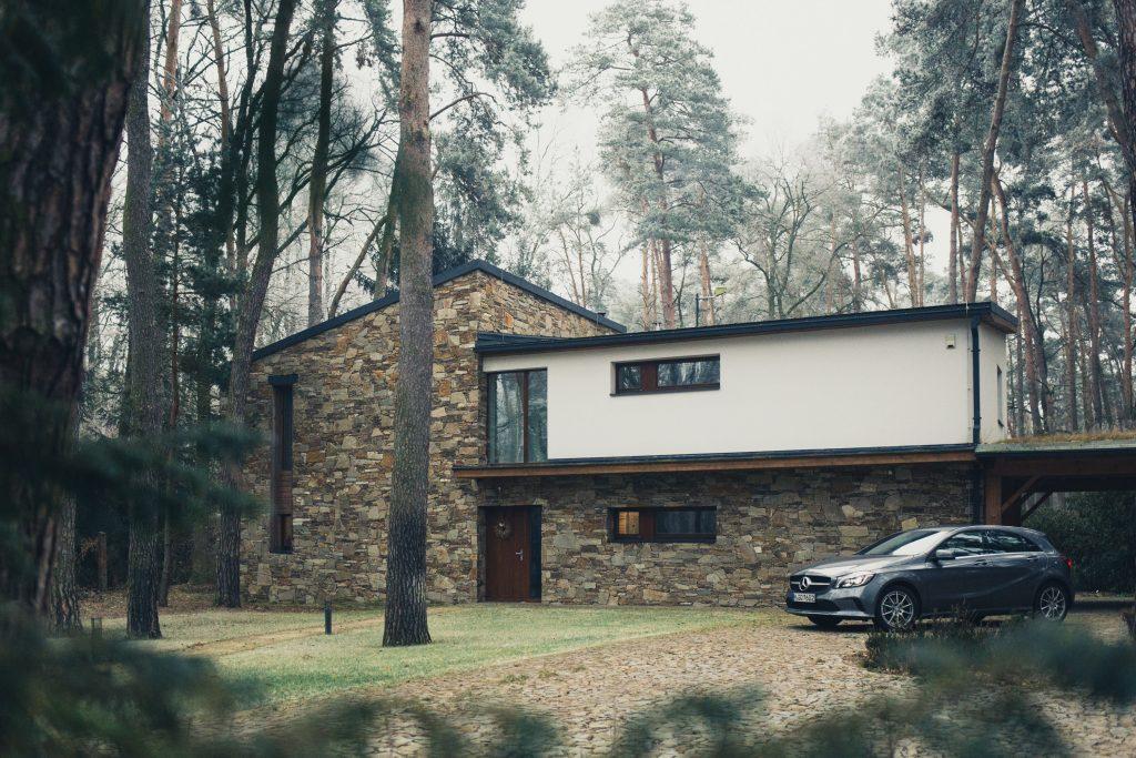 Ancienne maison modernisée avec extension