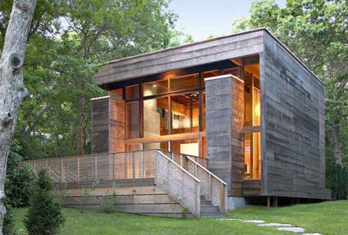 La maison cube, une maison moderne assez originale, maison cubique ...