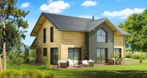 maison en bois mohave maisons artis