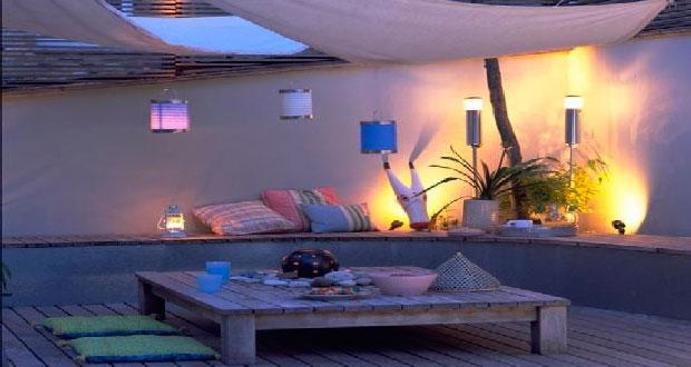Luminaires : comment mettre en valeur sa terrasse ?