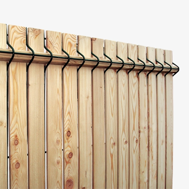 Grillage rigide en bois